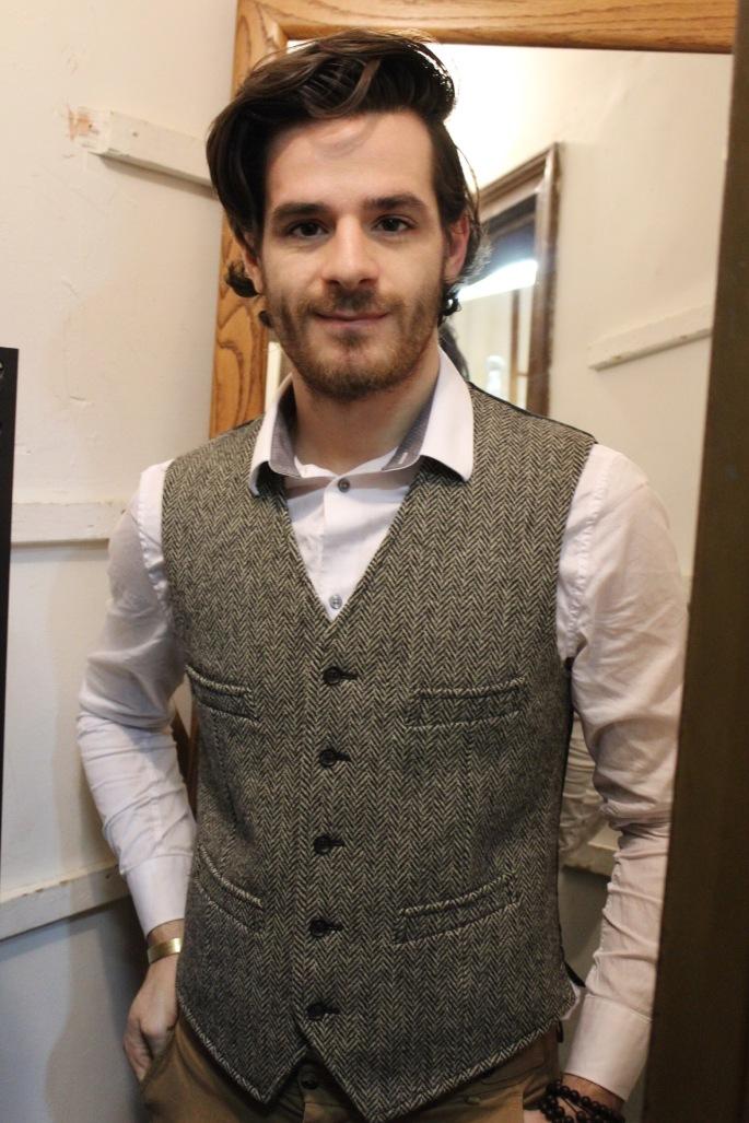 Polo Ralph Lauren Herringbone vest